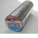 Изолента (лента изоляционная) 19мм х 20м, черная 10шт