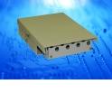 Коробка оптическая настенная 8 FC портов Simplex, ложемент для КДЗС, металлическая, (180*120*40мм Г*Ш*В)