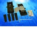 Оптическая проходная муфта  GJS 6007, горизонтальная, 48-96 волокон