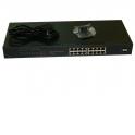 """NS1016GU18P Коммутатор 19"""", 18 портовый, 16 10/100/1000Mb портов, 2 комбинированных порта 1000Base-T/SFP слот, металлический кор"""