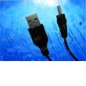 Кабель соед. шт. USB A для зарядки телефонов Nokia 3.5, 1м, черный