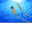 Кабель соед. шт. USB A для зарядки телефонов Nokia 3.5, 1м, белый