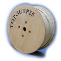 Кабель витая пара TopLAN TOP-3UTP25PR-GY