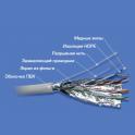 Кабель витая пара FTP 5e кат. 4 пары TopLAN TOP-5EFTP4PR-GY