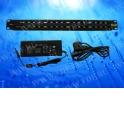 MTP16 PoE, патч-панель, 16портов, 1U, кабель питания ЕВРО, черный