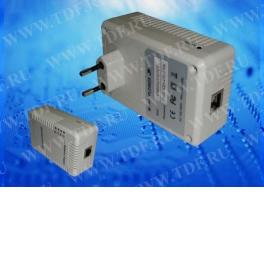 PLC002X Powerline-адаптер Transwide HomePlug AV порт Ethernet (Комплект из 2шт.)