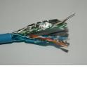 """Кабель F/UTP 4 (FTP4 ) cat.6 NETKO Japan /4 пары (4х2х0.57) / 305м / синий / одножильный, экранированный с крестовиной, 305м """"СК"""